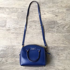 kate spade Bags - Kate Spade Blue Leather Purse